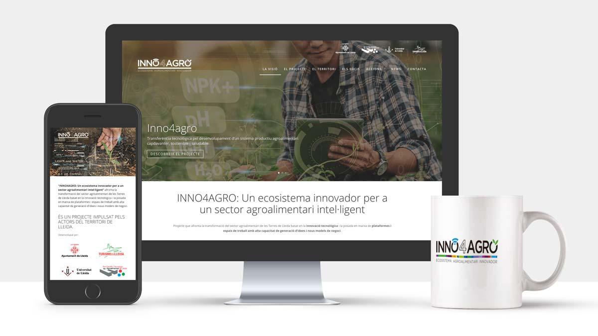 La web de Inno4agro donarà visibilitat al projecte i les seves accions