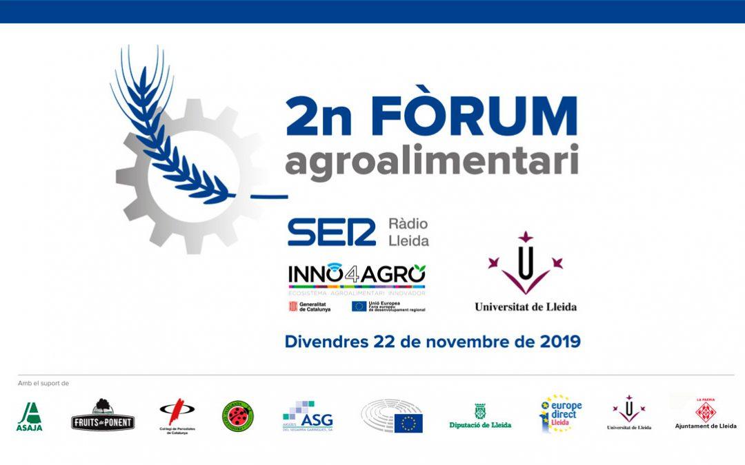 El canvi climàtic i els seus efectes protagonistes del 2n Fòrum Agroalimentari d'INNO4AGRO i Ràdio Lleida
