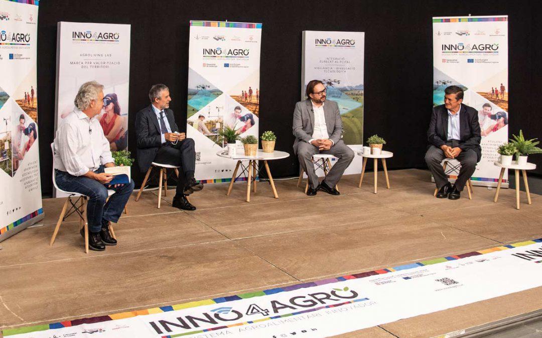 Inno4agro a la Fira Sant Miquel 2020, innovació i fortaleses del sector agroalimentari de Lleida
