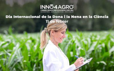 INNO4AGRO amb el Dia Internacional de la Dona i la Nena en la Ciència
