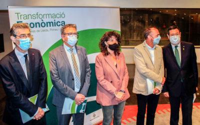 Presentada l'estratègia conjunta de transformació econòmica de Lleida