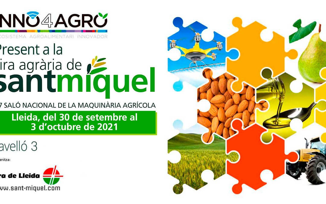 Inno4Agro present a la Fira Agrària de Sant Miquel